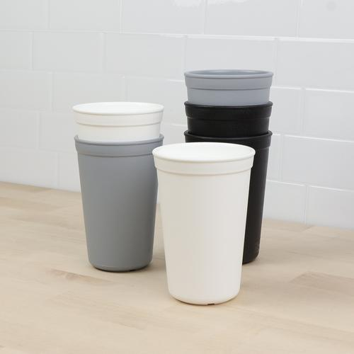 6 pack Monochrome Drinking Cups Collection