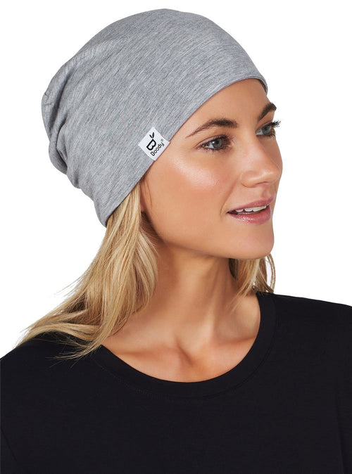 Soft Jersey Beanie Light Gray/Marle