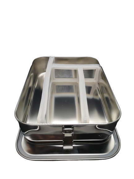 Stainless Steel Bento Box with Removeable Dividers