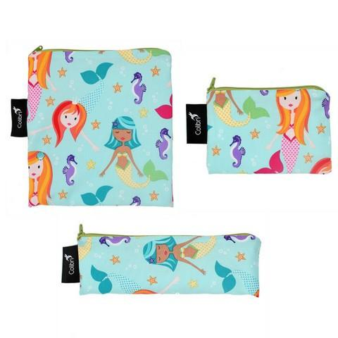 Colibri Small Reusable Snack Bag in Bermuda