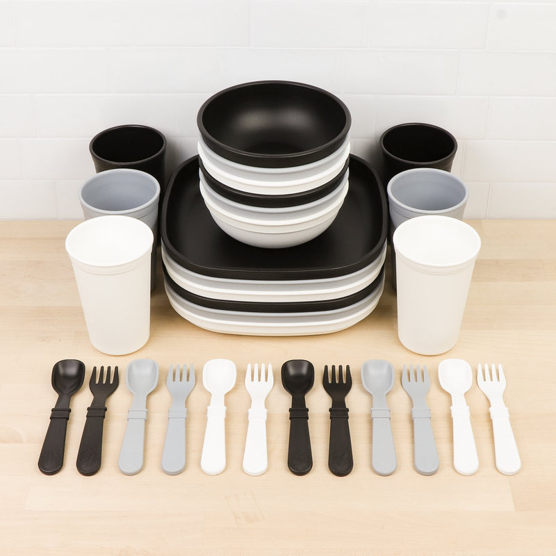 Big Kid Tableware Monochrome Collection