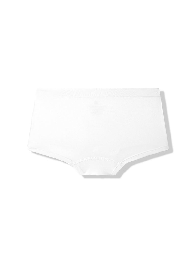 Boy Leg Brief White