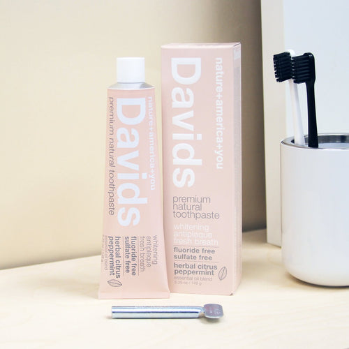 David's Premium Natural Toothpaste - Herbal Citus 5.25 oz/149g