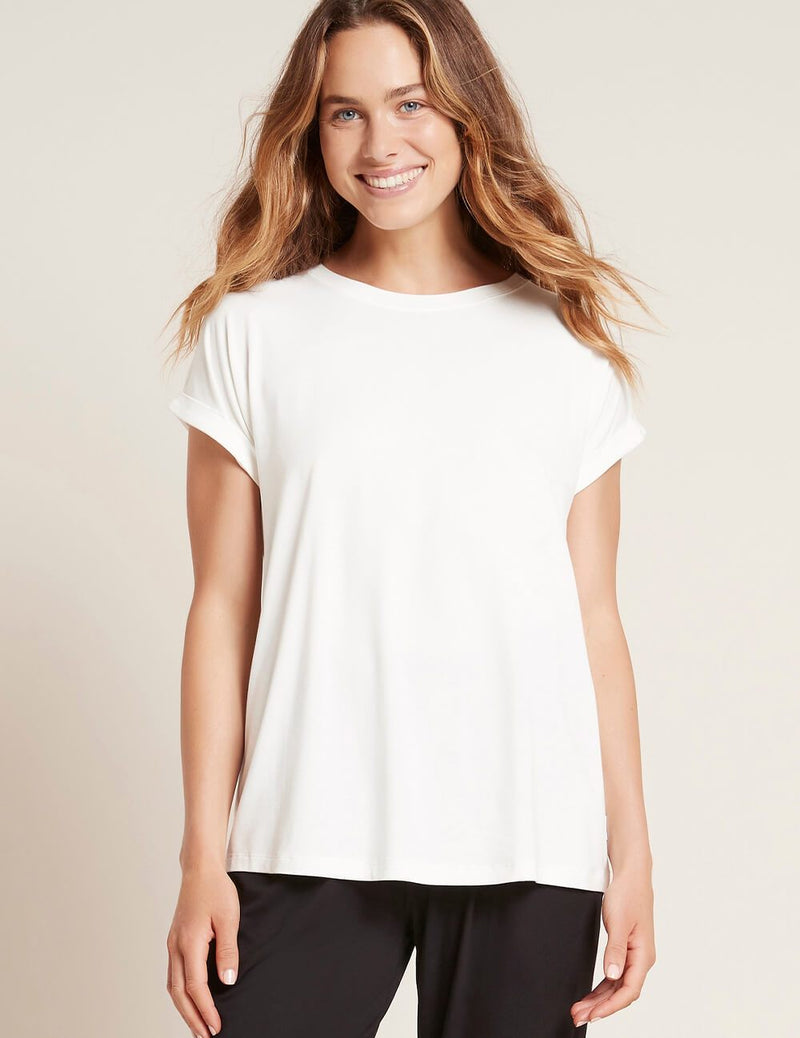 Downtime Lounge Top Natural White