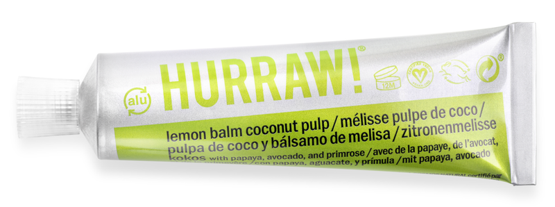 Hurraw Lemon Balm Coconut Pulp BALMTOO*