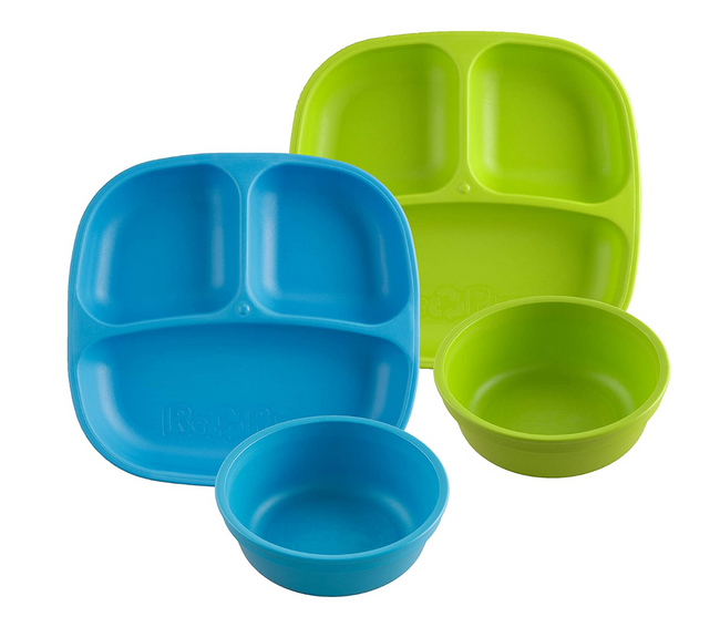 4 pack Matching Bowl and Plate
