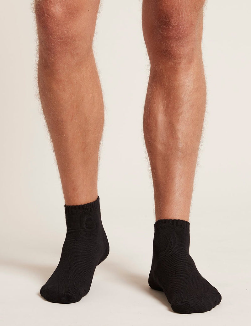 Men's Sport Ankle Socks Black