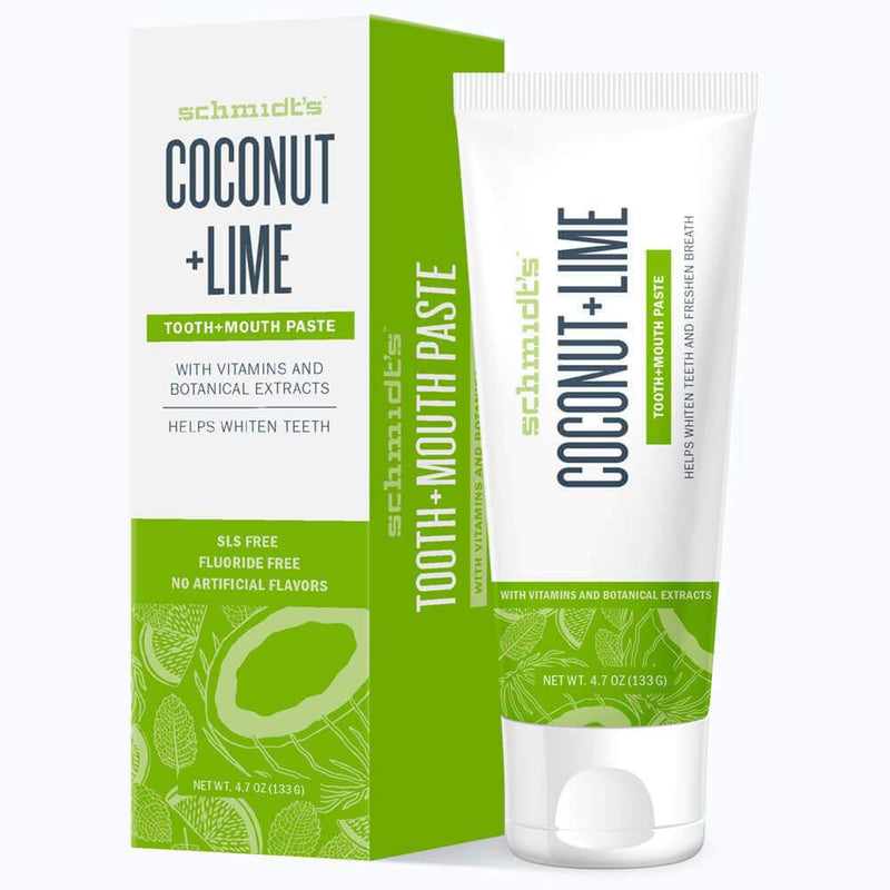 Tooth+Mouth Paste - Coconut + Lime