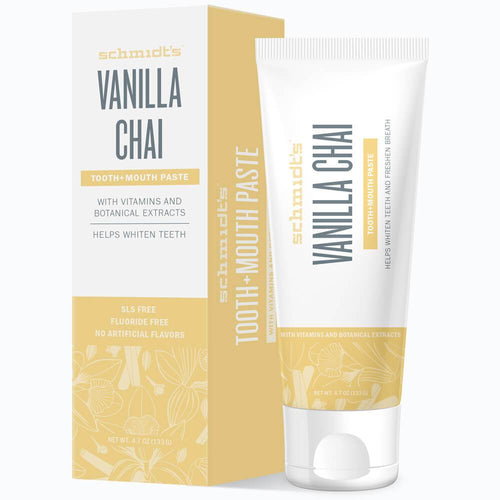 Tooth+Mouth Paste - Vanilla Chai