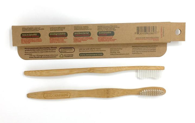 Soft Adult Bamboo Toothbrush