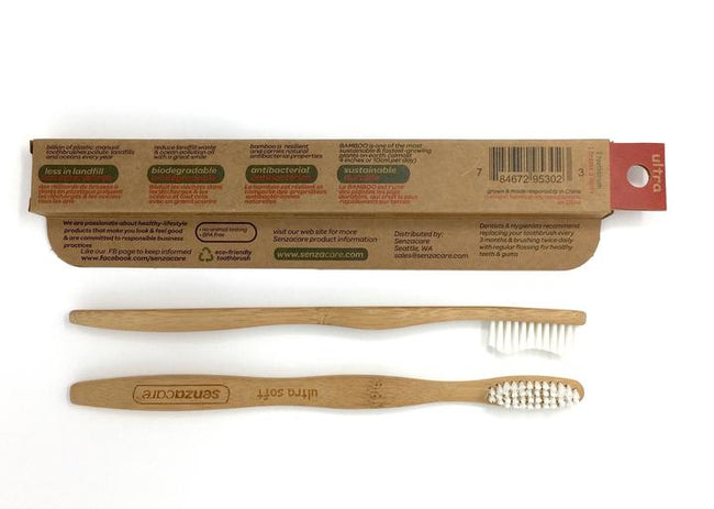Ultra Soft Adult Bamboo Toothbrush