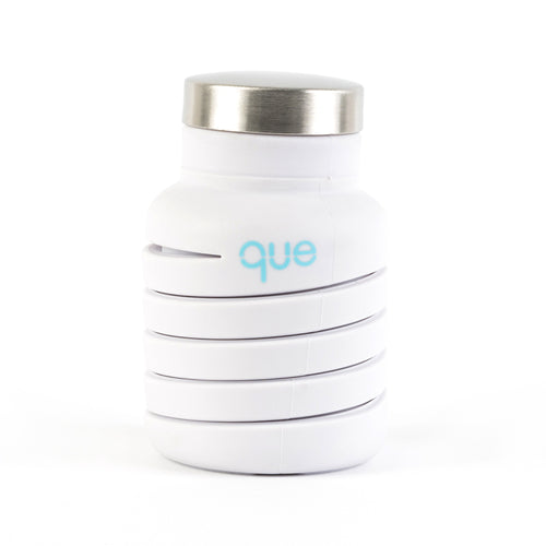 Que Bottle White  (12 oz)