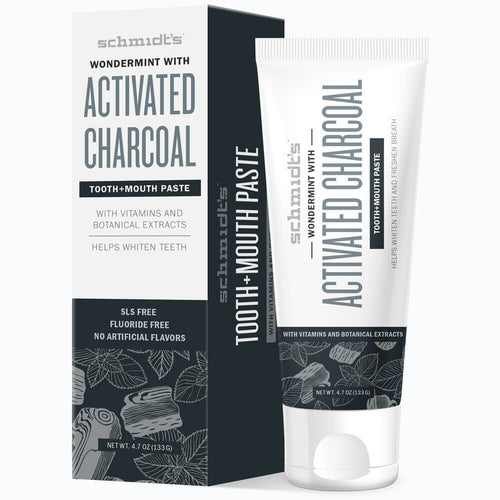 Tooth+Mouth Paste - Wondermint with Charcoal