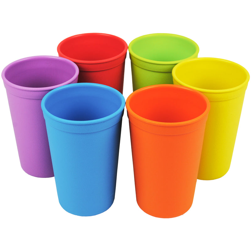 6 pack Colour-Wheel Drinking Cups Collection