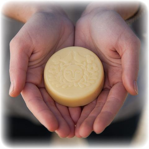 Moon Melt Lotion Bar Coconut Lemon (1.9 oz)