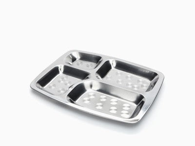 Rectangular Divided Lunch Tray