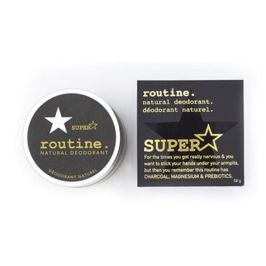 Superstar Natural Deodorant Cream (58g)