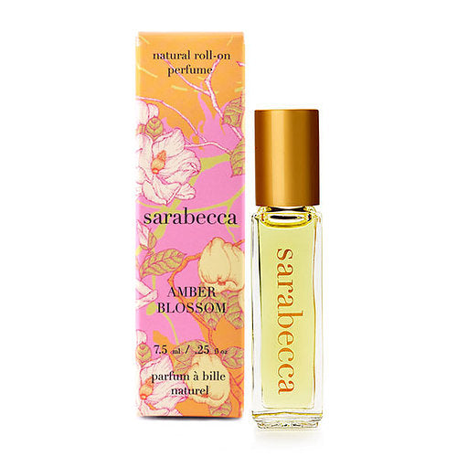 Amber Blossom Natural Roll-On Perfume 7.5ml/0.25oz