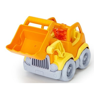 Scooper Construction Truck Orange/Yellow