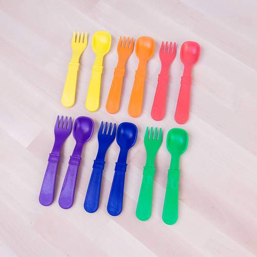 Toddler Utensil Set Crayon Box