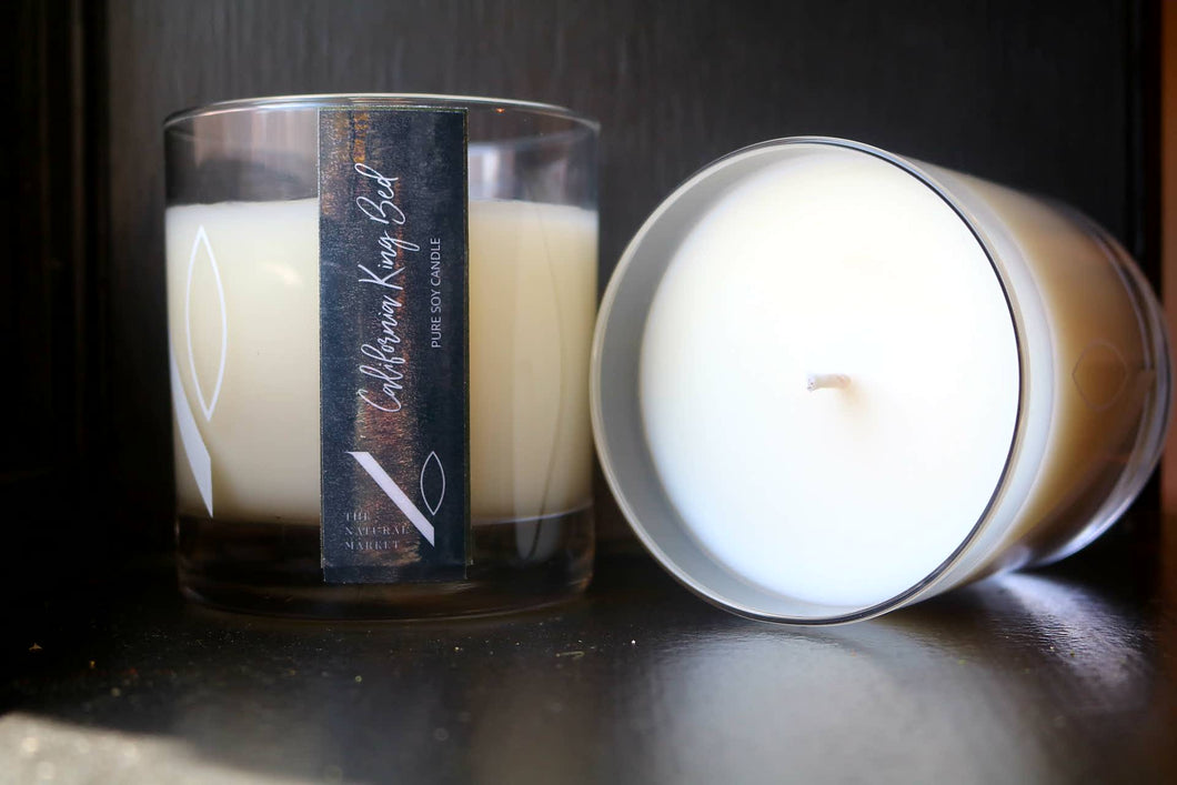 CALIFORNIA KING BED CANDLE