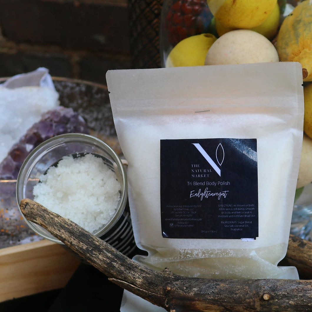 ENLIGHTENMYNT TRI BLEND BODY POLISH