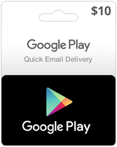 Google Play Card - $10 (Email Delivery) - Dool-X IT Republic