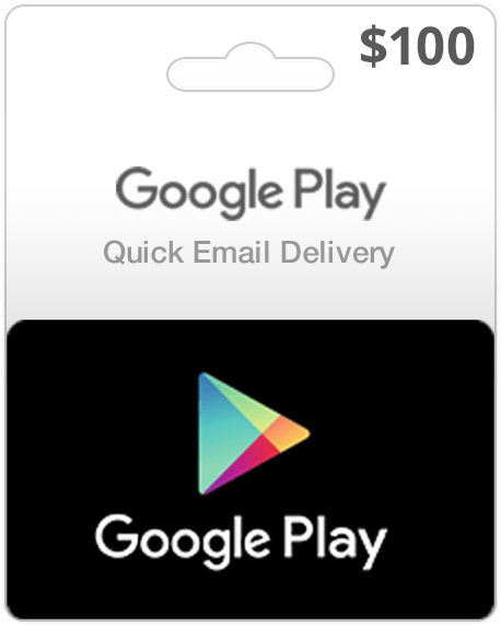 Google Play Card - $100 (Email Delivery) - Dool-X IT Republic