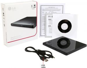 Transcend Ultra Slim Portable Cd/dvd Writer - 8xdvds-k - Dool-X IT Republic