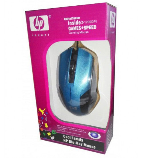 HP Blue Ray Mouse - Dool-X IT Republic