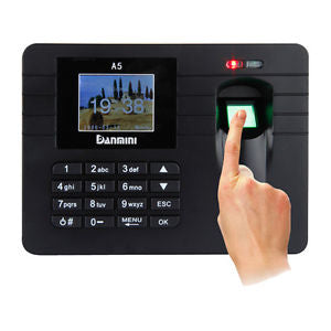Biometric Fingerprint Time Attendance Machine - Dool-X IT Republic