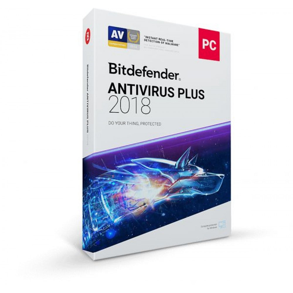 BitDefender Antivirus Plus - 1PC - Dool-X IT Republic