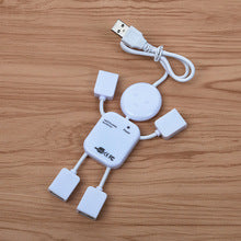 5-in-1 Portable Human Robot Shaped USB Hubs - Dool-X IT Republic