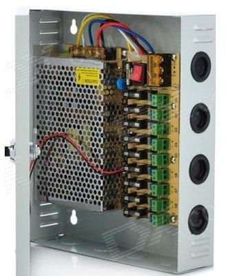 4 Channel Fused 12V DC CCTV Power Supply - Dool-X IT Republic