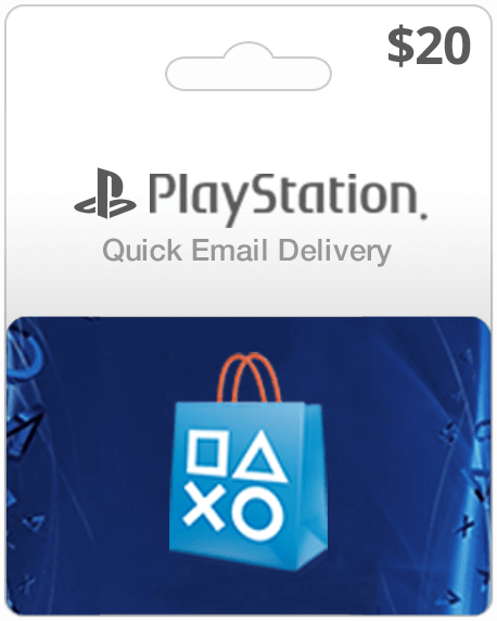 Playstation Network Card - $20 - Email Delivery - Dool-X IT Republic