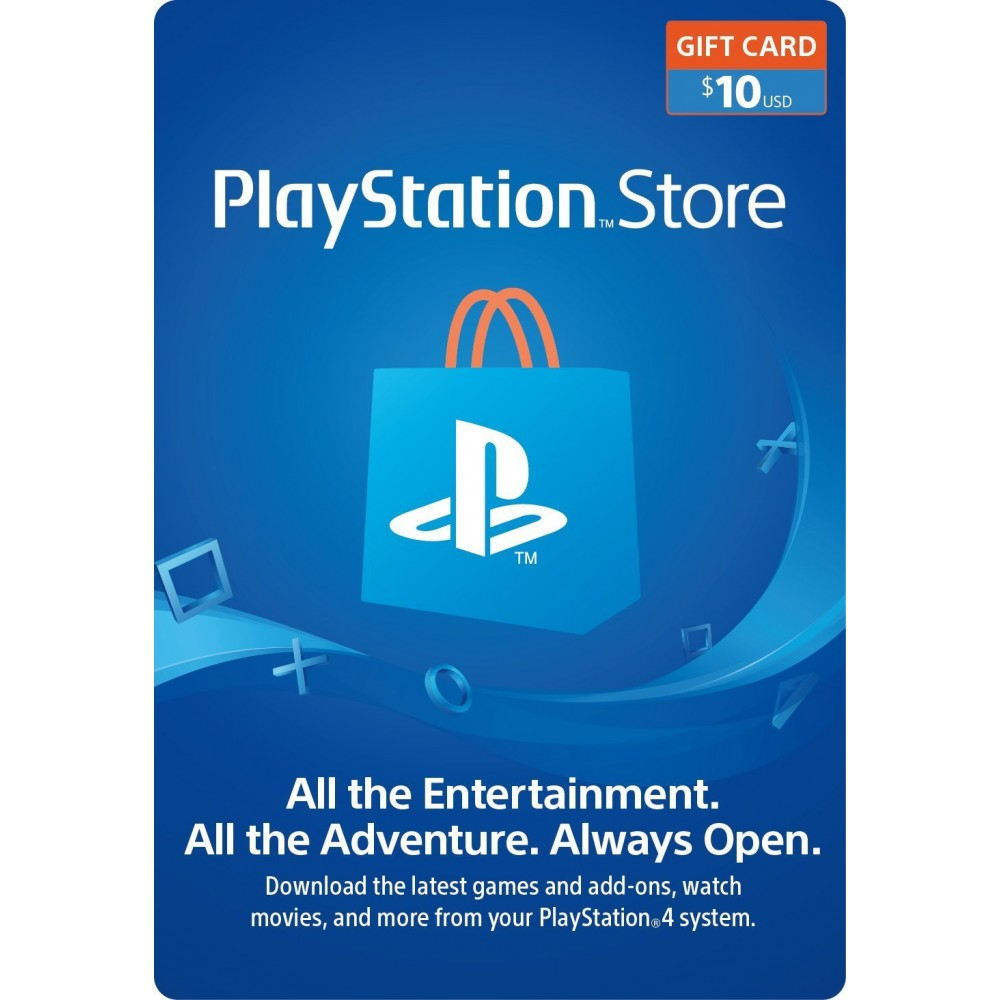 Sony PSN $10 Gift Card - Dool-X IT Republic