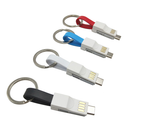3in1 Magnetic keychain USB Cable For ios/Android/Type-C - Dool-X IT Republic
