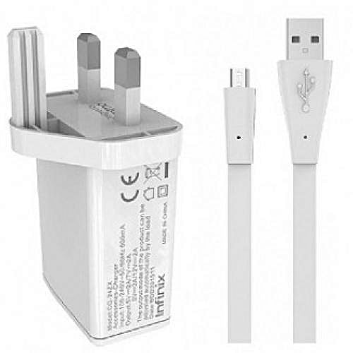 Original Infinix Charger - White - Dool-X IT Republic