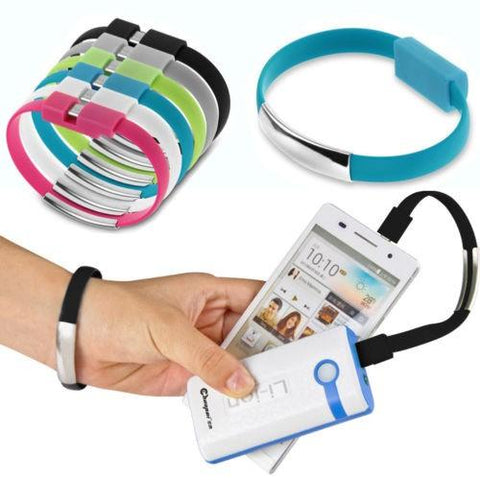 Bracelet Micro USb Cable with Charging and Sync - Dool-X IT Republic