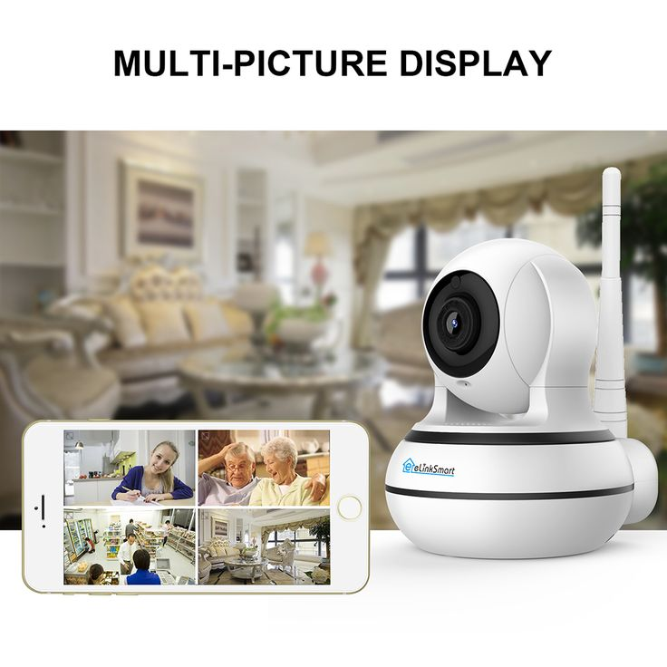 eLinkSmart WiFi IP Camera Indoor - Dool-X IT Republic