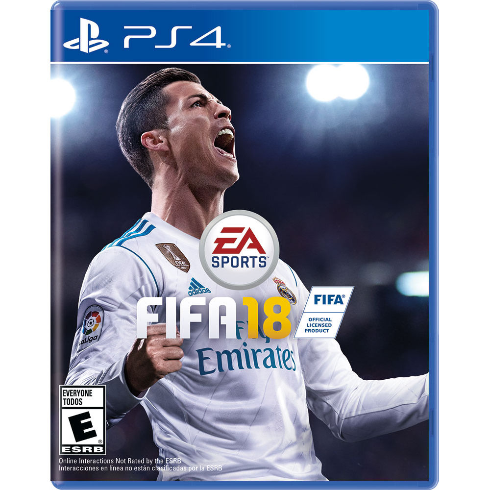 Sony PlayStation PS4 FIFA 18 - Dool-X IT Republic