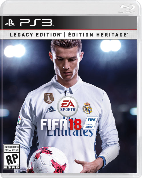 Sony PlayStation PS3 FIFA 18 - Dool-X IT Republic