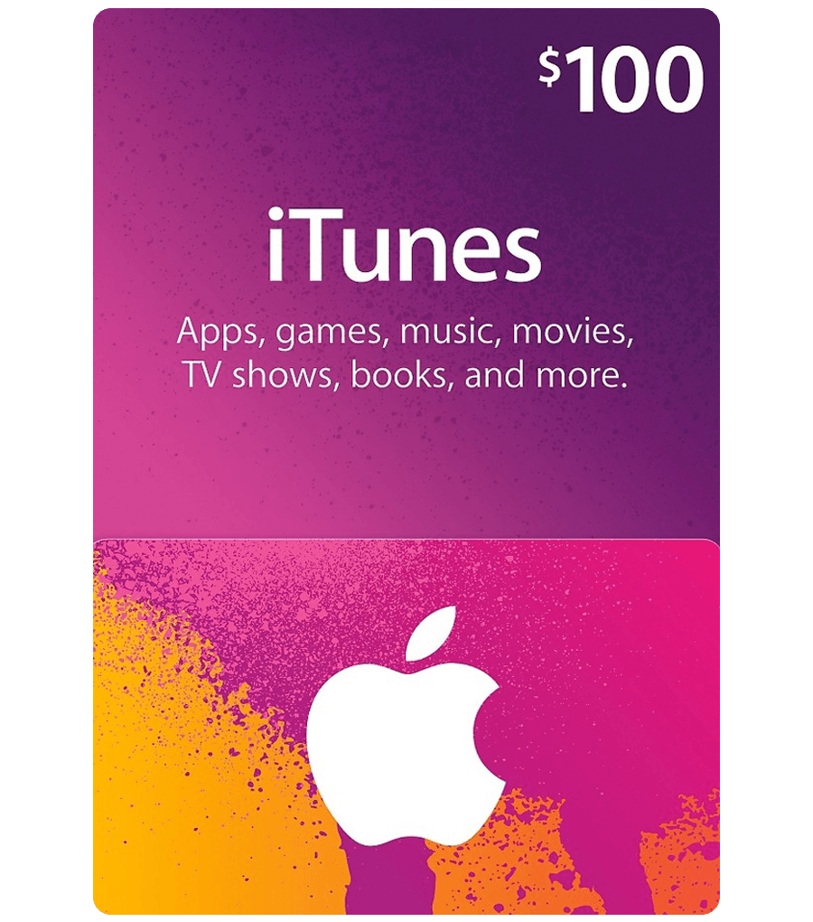 iTunes Gift Card - $100 Email . Delivery - Dool-X IT Republic