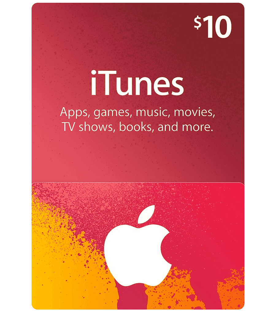 iTunes Gift Card $10 (Email Delivery) - Dool-X IT Republic