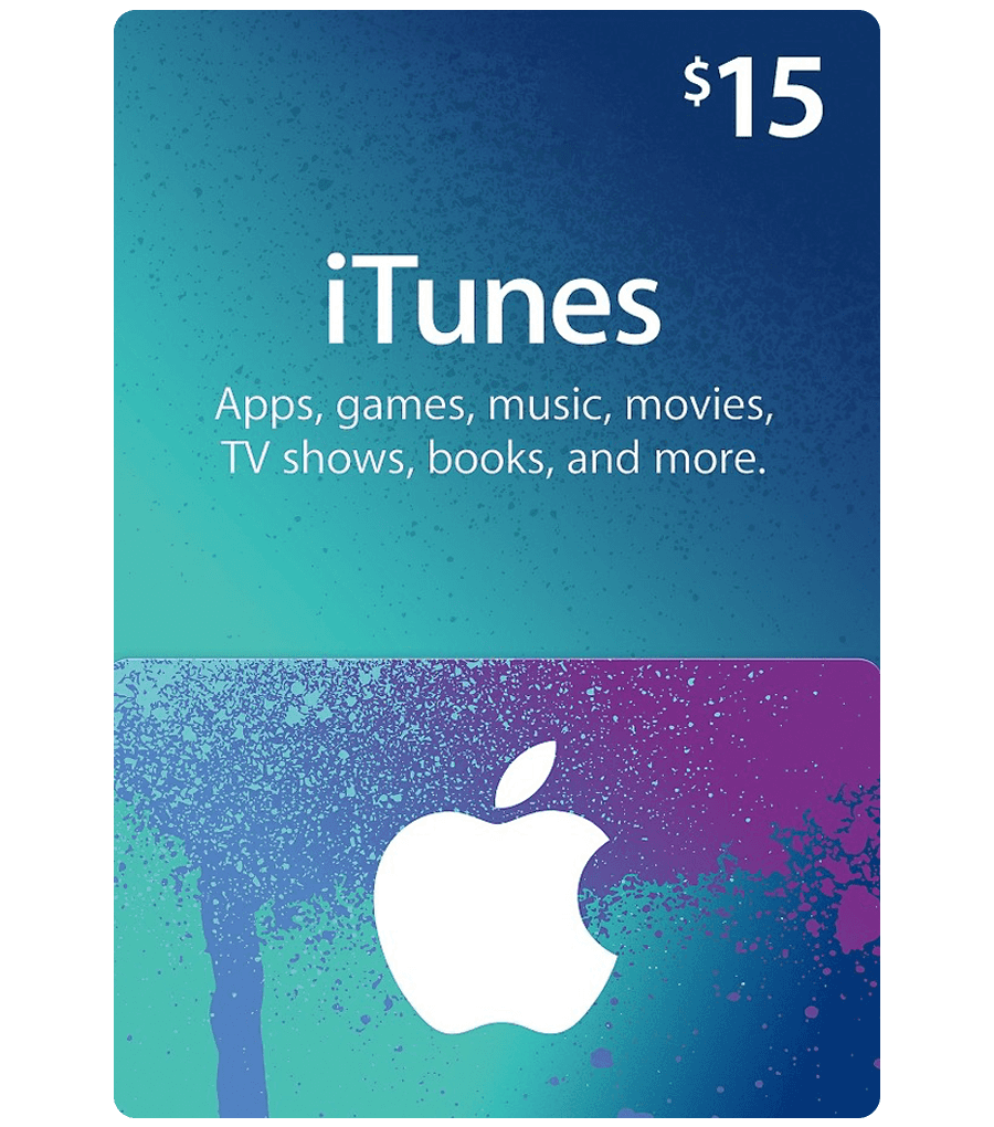 iTunes Gift Card - $15 Email . Delivery - Dool-X IT Republic