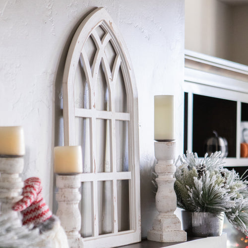 Arch Farmhouse Window Decor