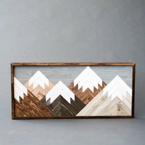 Wooden Mountain Scene