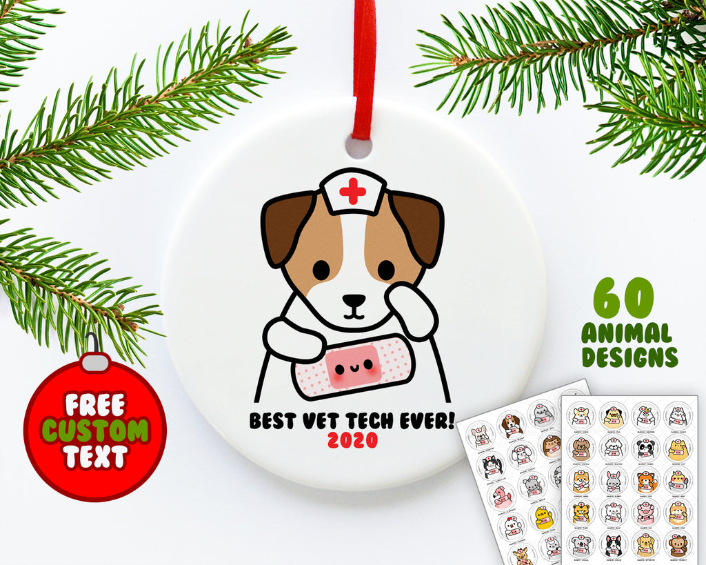 Bandage Animals Ornament