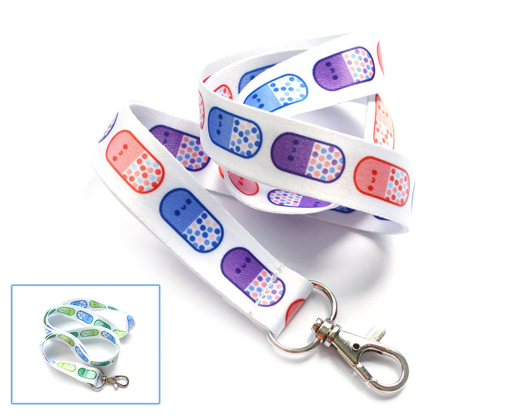 Happy Pills Lanyard