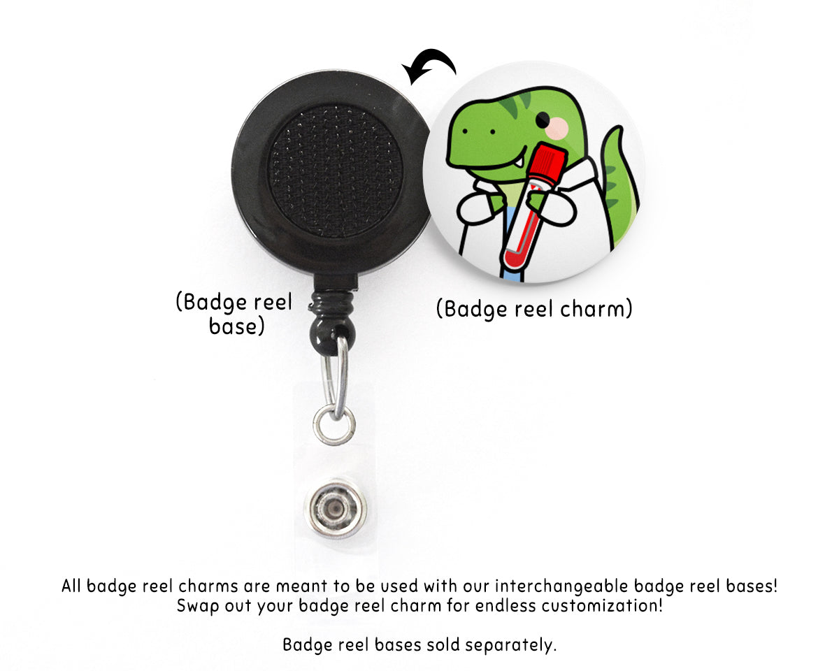 Red Wipe Interchangeable Charm